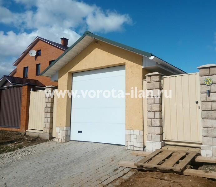 МО_Ясенки_ворота секционные гаражные