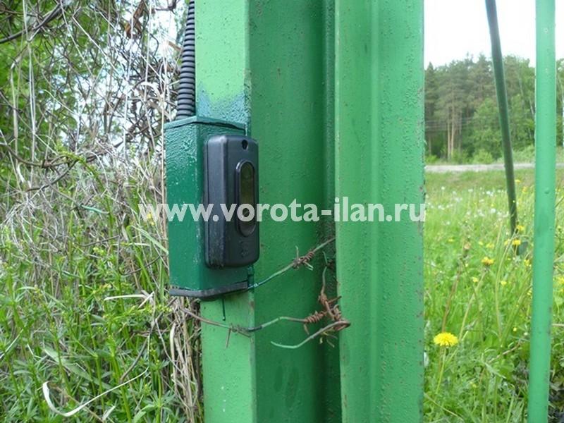 СНТ Беляево Чехов_автоматизация распашных ворот заказчика_1