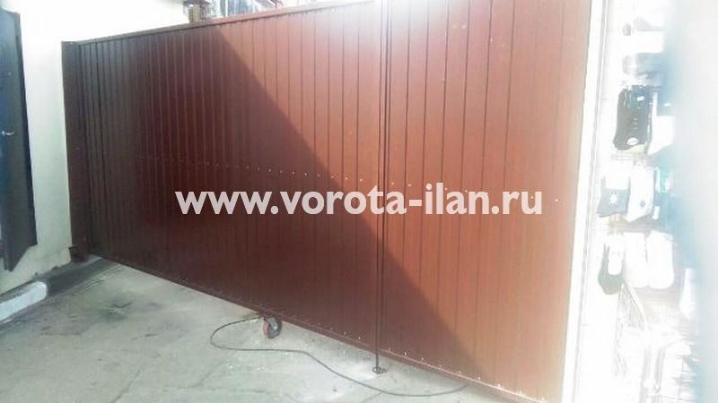 Подольск_центральный рынок Подольска Станица_ворота автоматические распашные_фото 1