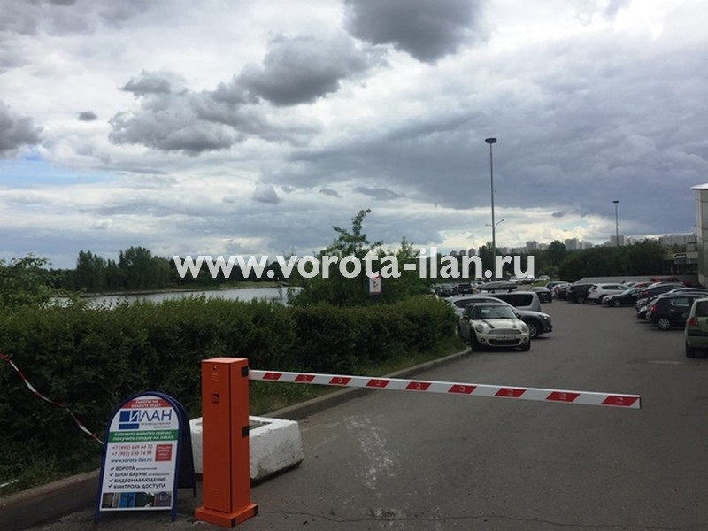 Москва_Спортивный комплекс Крылатское_шлагбаум подъёмный CAME GARD 2500_фото 2