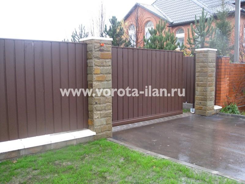 Ворота откатные Жостово_фото 3