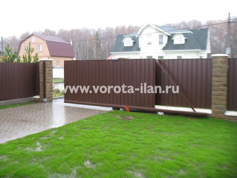 Ворота откатные Жостово_фото 2