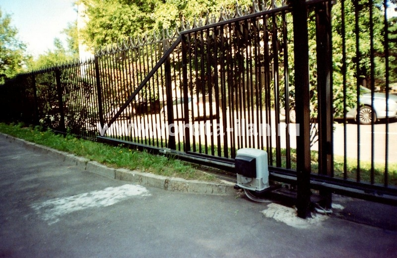 Ворота откатные прозрачные_фото 3