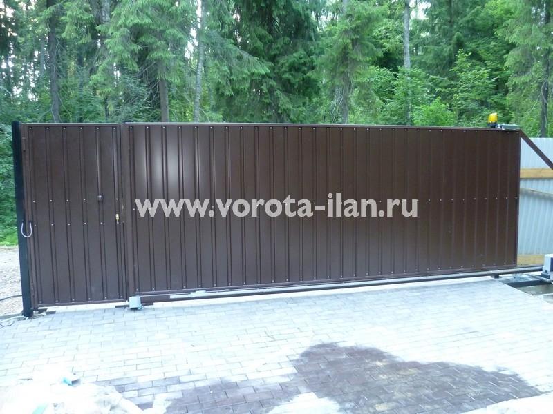 ворота откатные загородные_фото 7