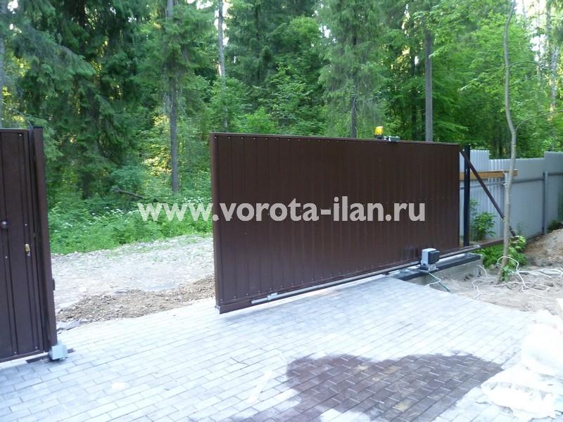 ворота откатные загородные_фото 5