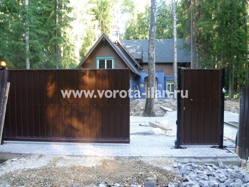 ворота откатные загородные_фото 4