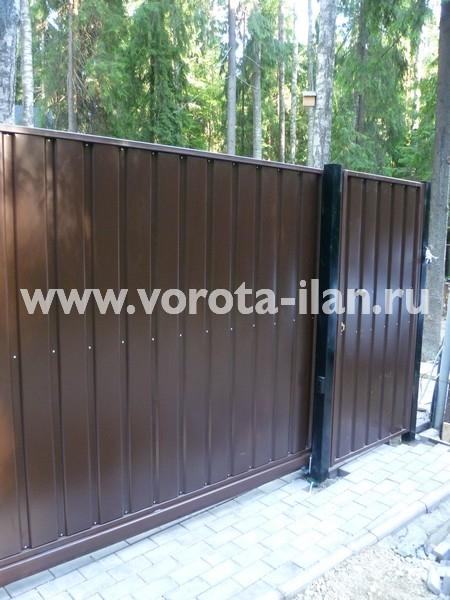 ворота откатные загородные_фото 1