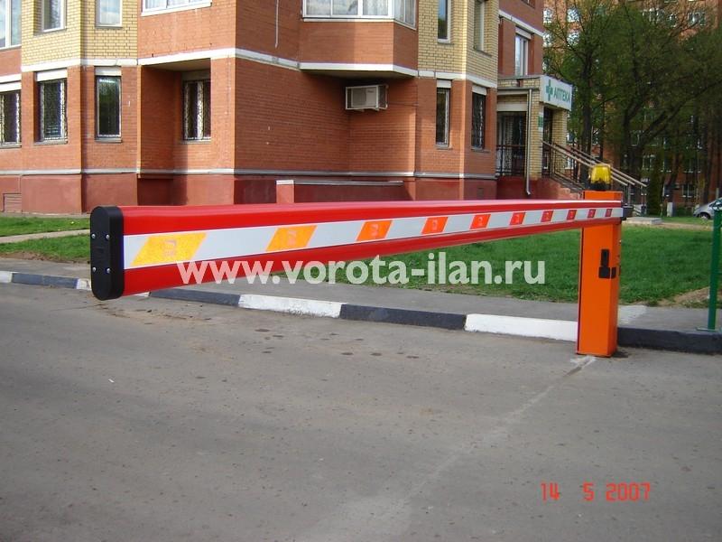 Подольск_улица Маштакова_шлагбаум подъёмный_фото 3