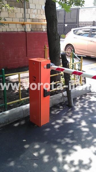 Москва_Гусятников переулок_шлагбаум подъёмный CAME GARD3750_фото 2