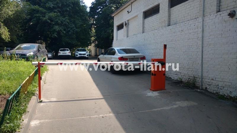 Москва_проспект Мира_шлагбаум подъёмный с защитой от вандализма_фото 6