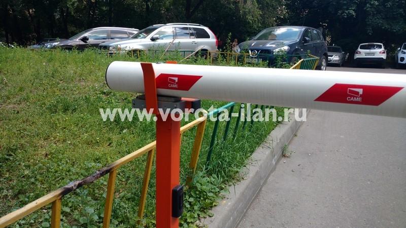 Москва_проспект Мира_шлагбаум подъёмный с защитой от вандализма_фото 3