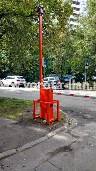 Москва_улица 3-я Новоостанкинская_шлагбаум подъёмный с системой диспетчеризации_фото 13