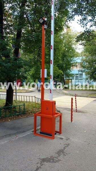 Москва_улица 3-я Новоостанкинская_шлагбаум подъёмный с системой диспетчеризации_фото 11