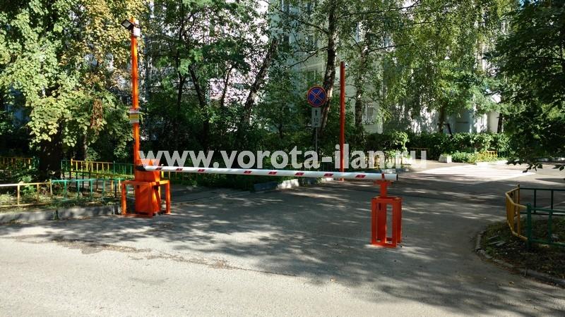 Москва_улица 3-я Новоостанкинская_шлагбаум подъёмный с системой диспетчеризации_фото 6