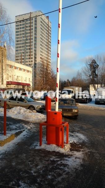 Москва_улица Вересаева_шлагбаум подъёмный с системой диспетчеризации_фото 16