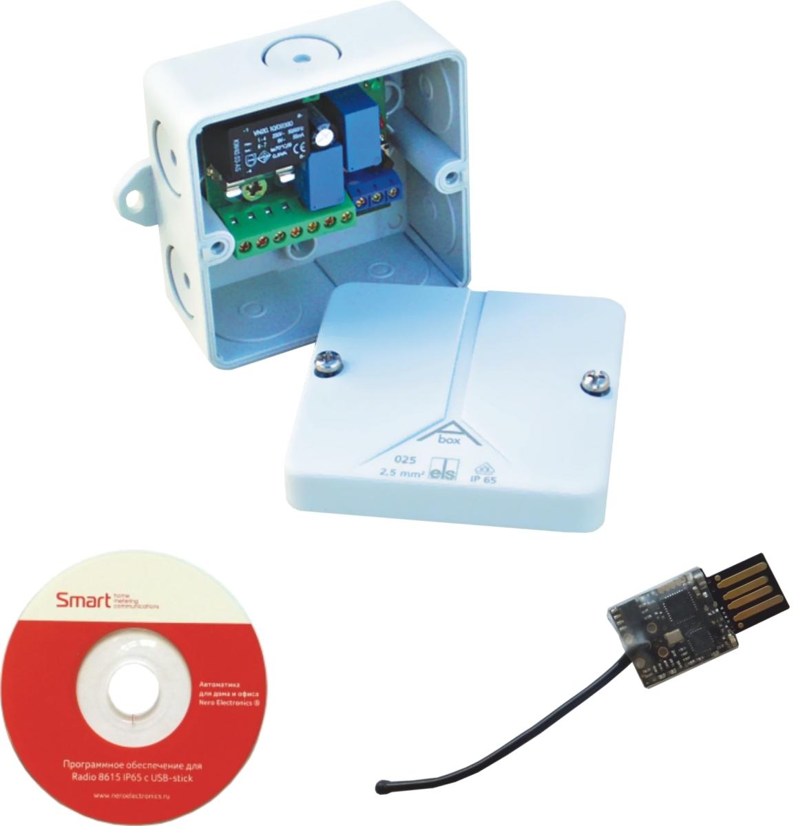 Радиоконтроллер NERO 8615 с USB-stick