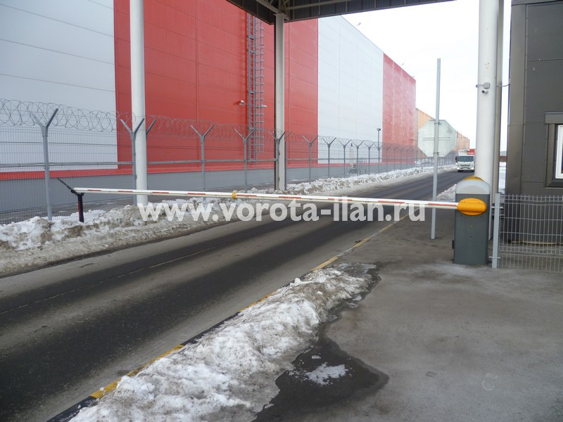 МО_складской терминал Сынково_подъёмный шлагбаум_7