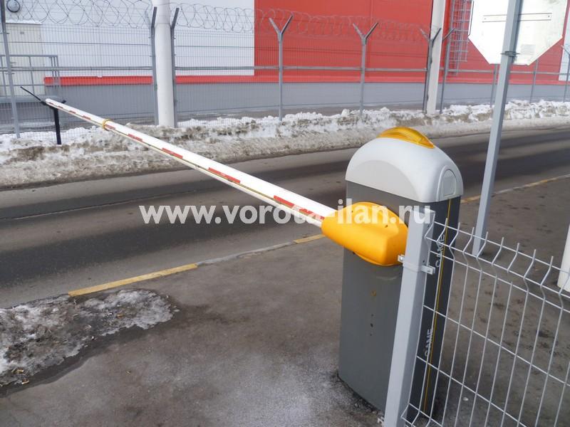 МО_складской терминал Сынково_подъёмный шлагбаум_4