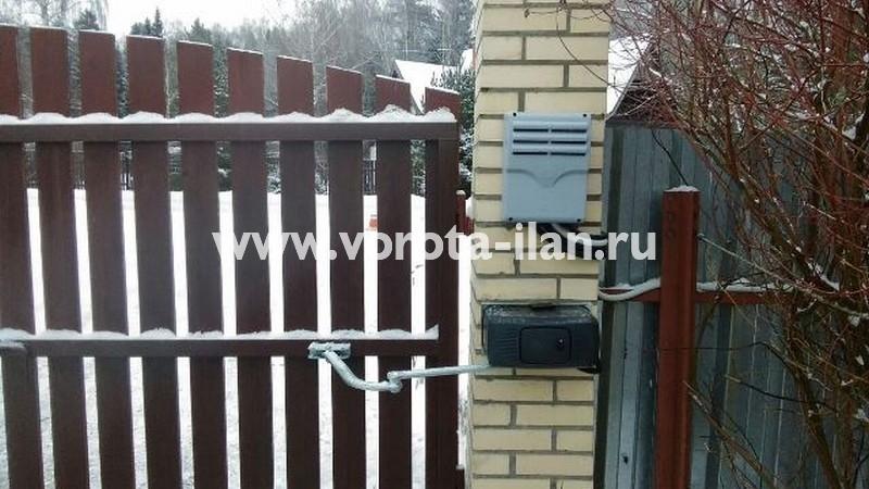 МО_Чеховский район_деревня Талеж_привод CAME на 24 вольт на распашные ворота_2
