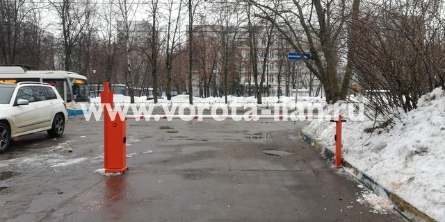 Москва_Чонгарский бульвар 26_шлагбаум CAME gard3750_электромагнитный замок_видеонаблюдение_УДП_1