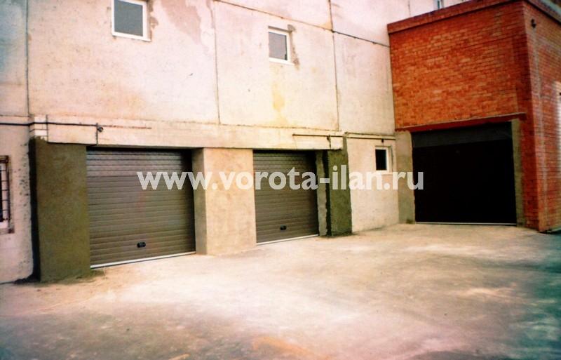 Ворота секционные гаражные_ГСК_фото 5