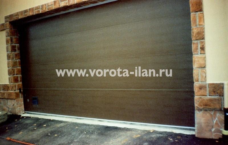 Ворота секционные гаражные_ГСК_фото 3