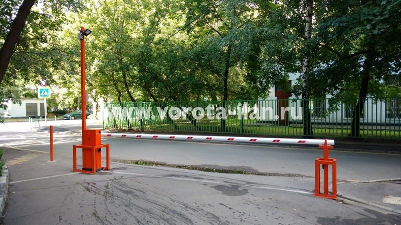 Москва_улица 3-я Новоостанкинская_шлагбаум подъёмный с системой диспетчеризации_фото 3