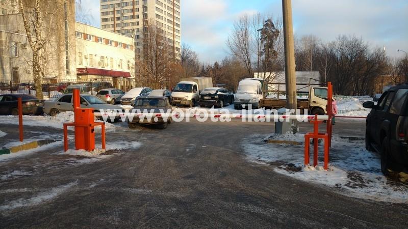 Москва_улица Вересаева_шлагбаум подъёмный с системой диспетчеризации_фото 17