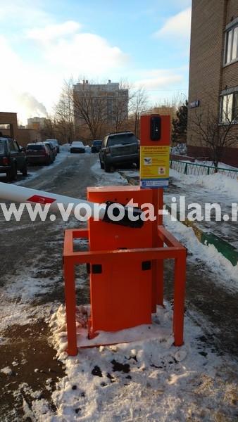 Москва_улица Вересаева_шлагбаум подъёмный с системой диспетчеризации_фото 11