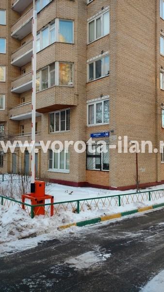 Москва_улица Вересаева_шлагбаум подъёмный с системой диспетчеризации_фото 3
