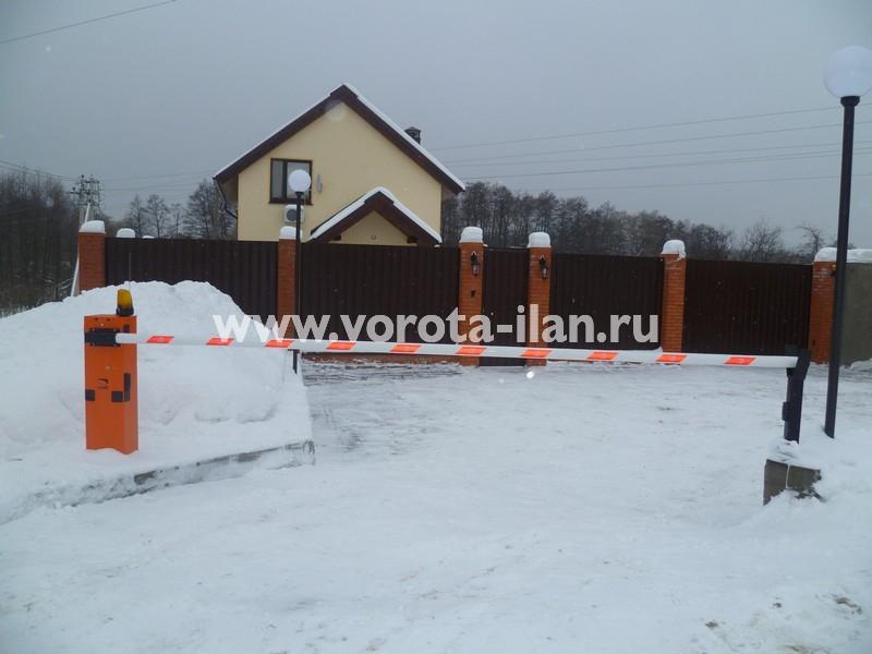 Деревня Вороново (Новая Москва) _шлагбаум подъёмный CAME G3750_фото 2